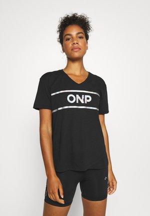 ONPALIANA OVERSIZE TEE - Print T-shirt - black