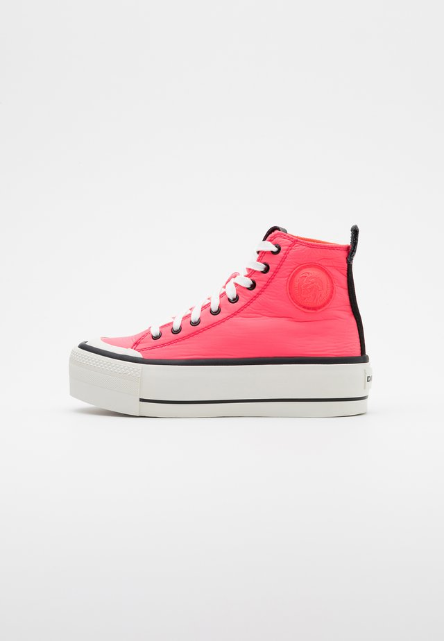 ASTICO S-ASTICO MC WEDGE SNEAKERS - High-top trainers - pink