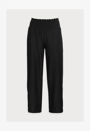 PCCURLI CROPPED - Kalhoty - black