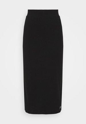 TABITHA SKIRT - Pouzdrová sukně - black