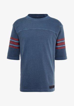 FOOTBALL - Print T-shirt - navy