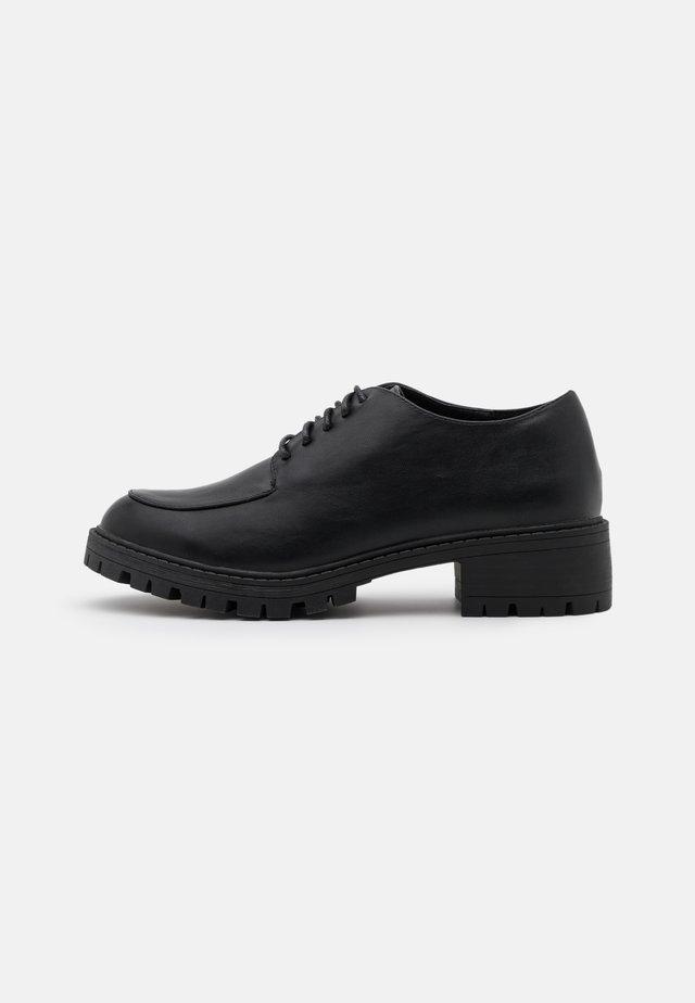 ALEX - Šněrovací boty - black