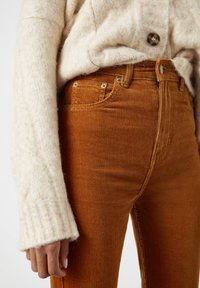 PULL&BEAR - Trousers - brown - 4