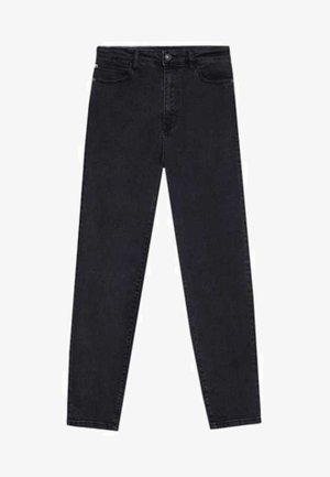 MOM-FIT - Slim fit jeans - black denim