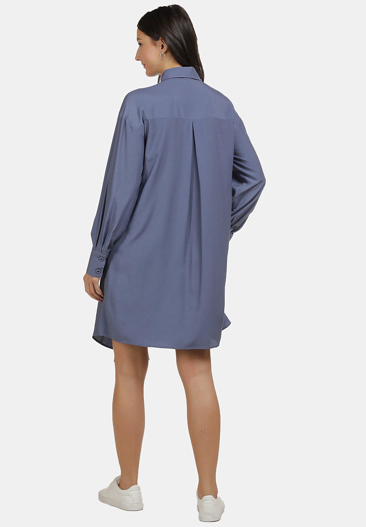 usha Blusenkleid dunkelblau