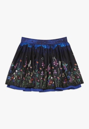 TIKKIE - Mini skirt - blue dark navy