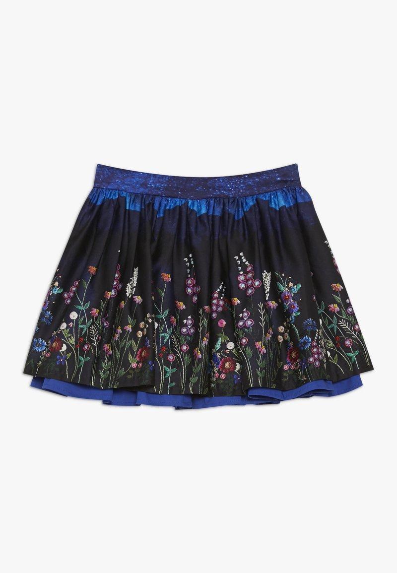Jottum - TIKKIE - Mini skirt - blue dark navy