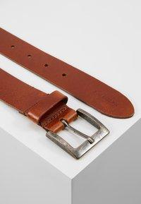 Pier One - LEATHER - Belt - cognac - 2