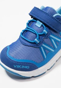 Viking - HOLMEN - Hiking shoes - dark blue/blue - 2