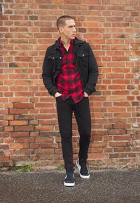 Denim Project - CHECK - Shirt - red - 1