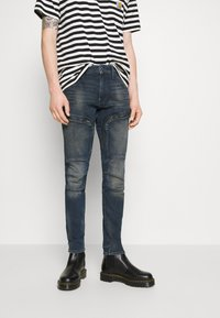 G-Star - AIR DEFENCE ZIP SKINNY - Jeans Skinny Fit - antic nebulas - 0