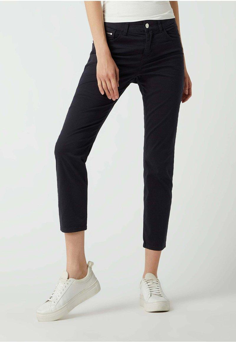 MAC Jeans - SLIM FIT IN 7/8-LÄNGE - Straight leg jeans - dunkelblau