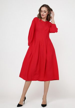 Vilda - Day dress - scharlachrot
