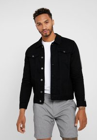 Brave Soul - POLARTAPE - Denim jacket - black - 0