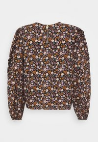 Scotch & Soda - PRINTED FLORAL WITH VOLUMINOUS SLEEVES - Blouse - combo - 1