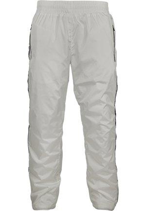URBAN CLASSICS HERREN SOUTHPOLE LOGO TAPE TRACK PANTS - Trainingsbroek - white