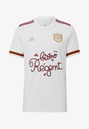 GIRONDINS  BORDEAUX  AWAY JERSEY - Print T-shirt - white
