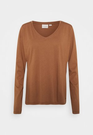 NAIA LONG SLEEVE  - Long sleeved top - chicory coffee
