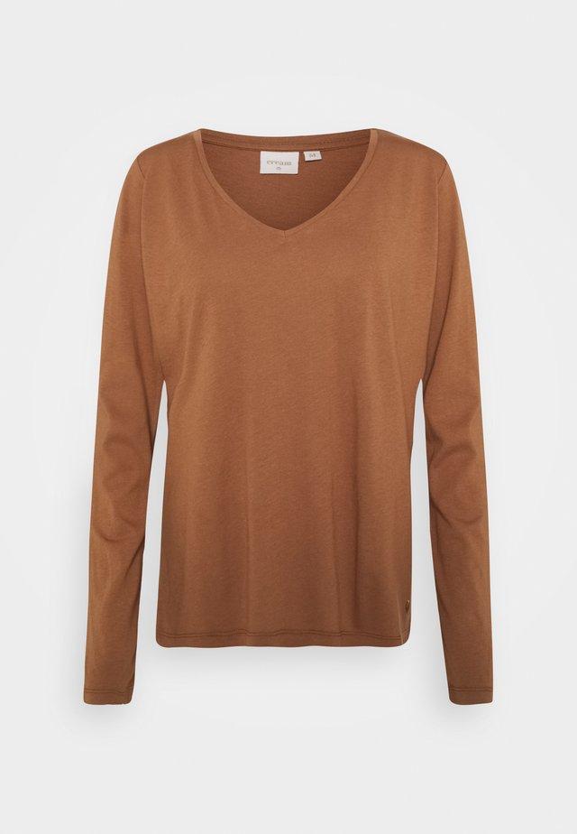 NAIA LONG SLEEVE  - Maglietta a manica lunga - chicory coffee
