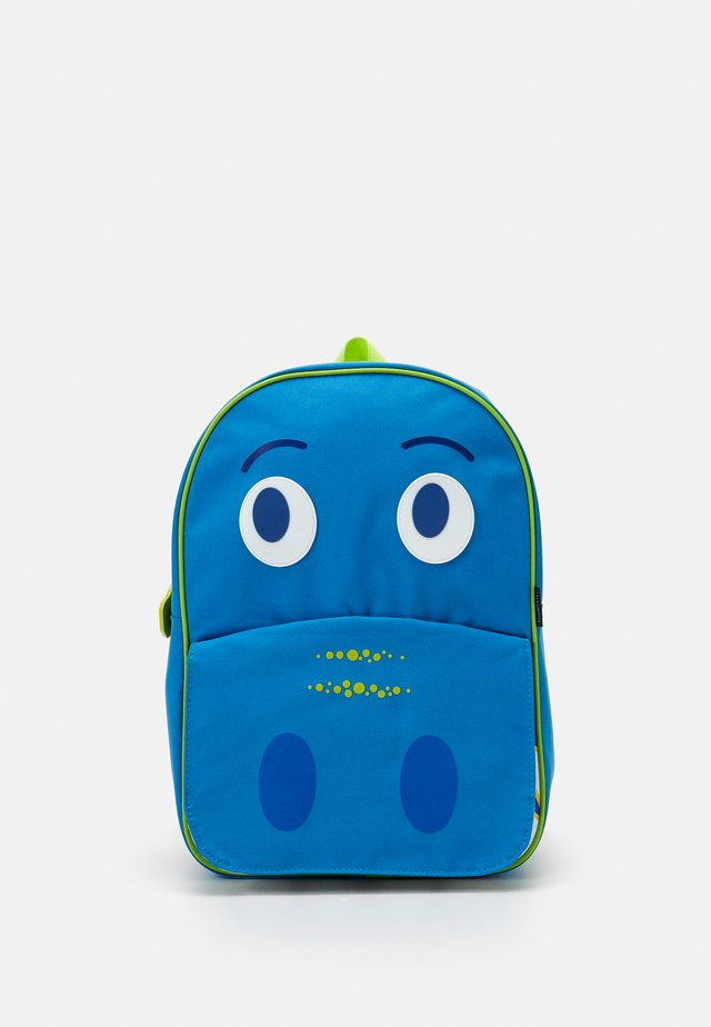 DINO KIDS BACK PACK LARGE UNISEX - Plecak - blue