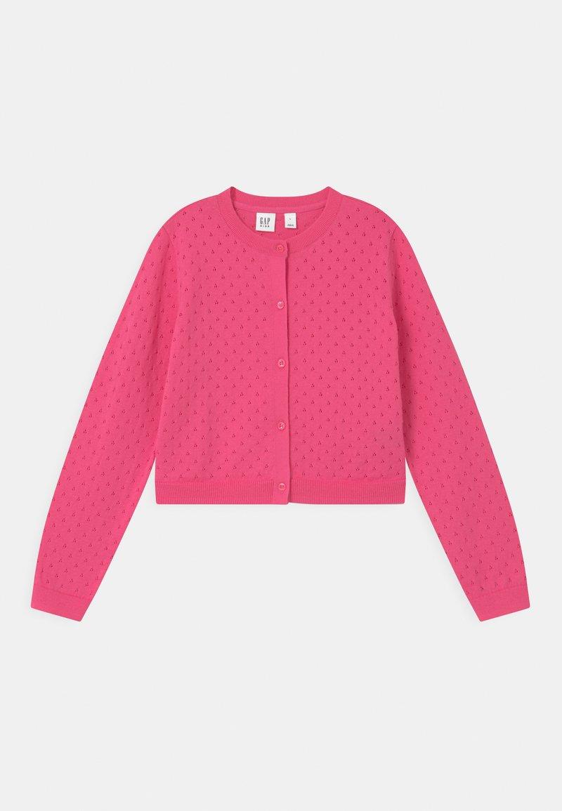 GAP - GIRL EASTER  - Cardigan - neon pink rose