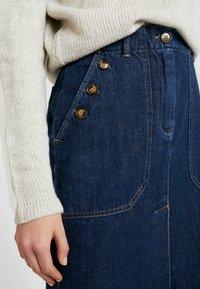 Leon & Harper - JACQUIE BRUT - Pencil skirt - blue - 5