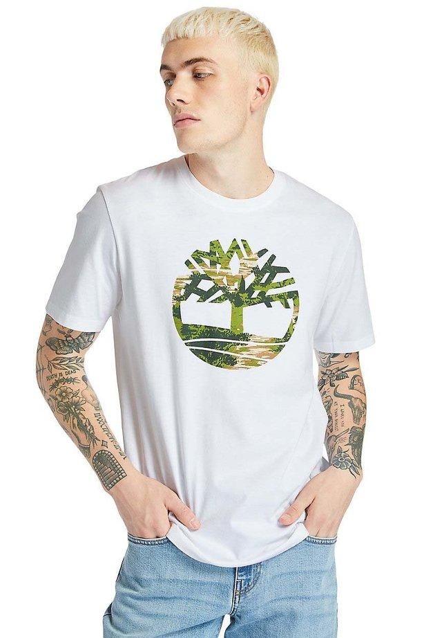 KENNEBEC  - T-shirt print - white