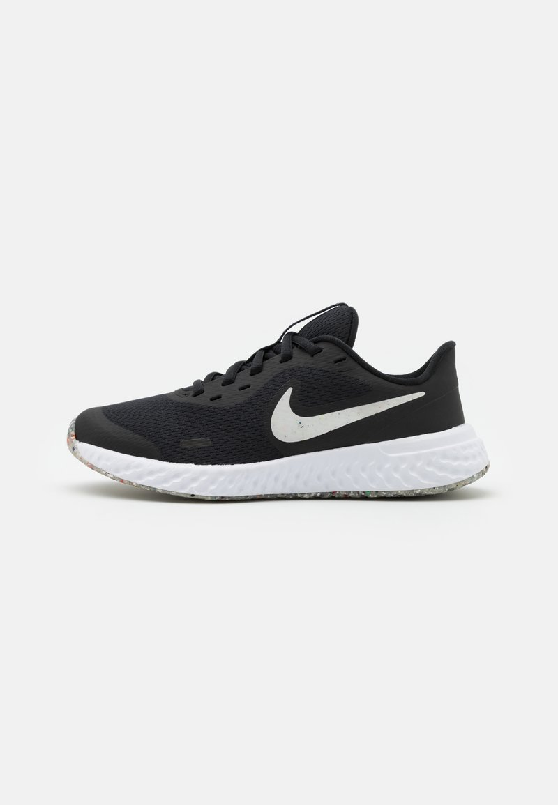 Nike Performance - REVOLUTION 5 MTF UNISEX - Neutral running shoes - black/white/bright crimson