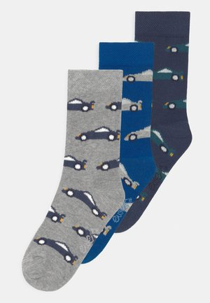 CARS 3 PACK - Socks - blue/grey