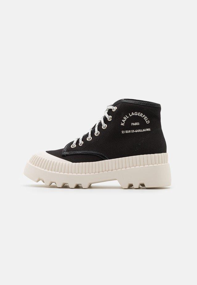 TREKKA MIDSUMMER LACE  - Sneakers hoog - black