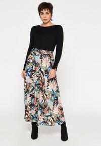 LolaLiza - Maxi skirt - multicolor - 1