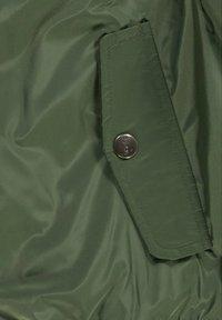 Esprit - MIT SWEAT-KAPUZE - Bomber Jacket - dark khaki - 3
