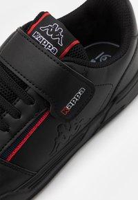 Kappa - UNISEX - Scarpe da fitness - black/red - 5