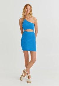 PULL&BEAR - Shift dress - blue - 1
