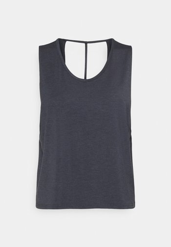 CUT OUT TANK - Top - ombre blue