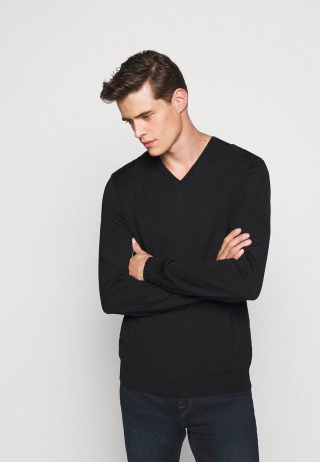 DAMIEN - Jersey de punto - black