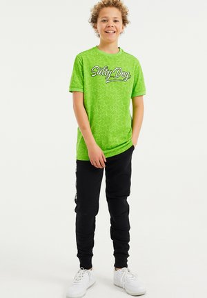 T-shirt print - bright green