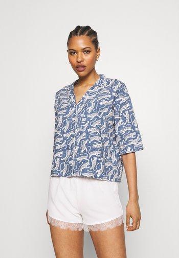 BANGALI CHEMISE - Pyjama top - bleu