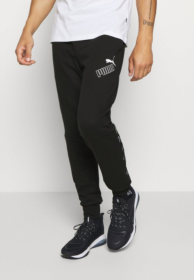 AMPLIFIED PANTS - Trainingsbroek - black