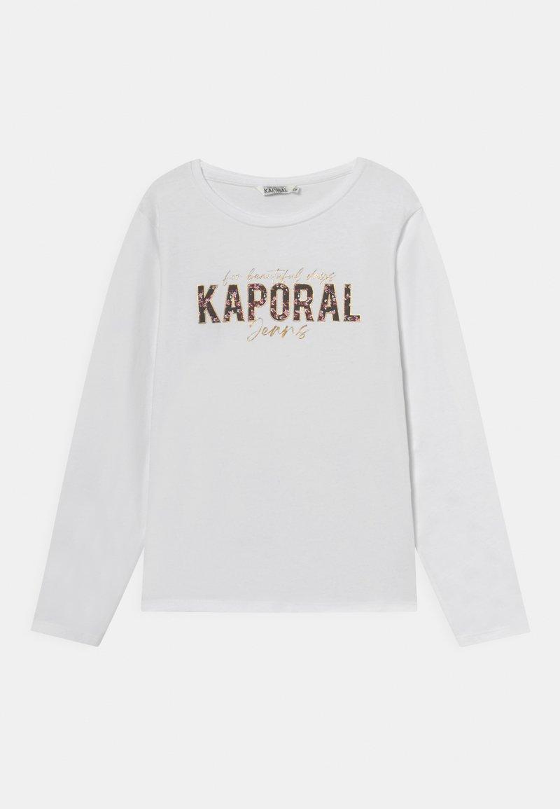 Kaporal - BELIO - Longsleeve - white