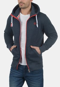 Solid - BENN  - Zip-up hoodie - blue melange - 2