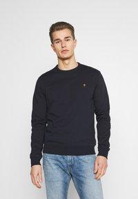 Farah - TIM CREW - Sweater - true navy - 0