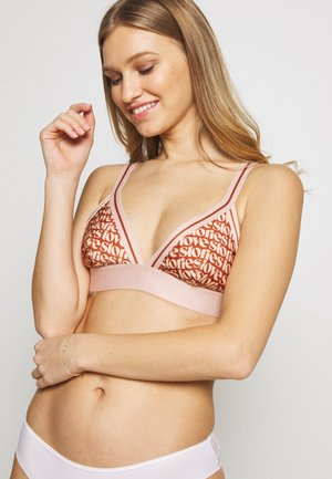 ROXIE - Triangle bra - orange/beige