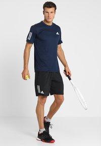adidas Performance - CLUB SHORT - kurze Sporthose - black/white - 1