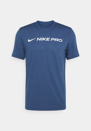 DRY TEE PRO - Camiseta estampada - mystic navy