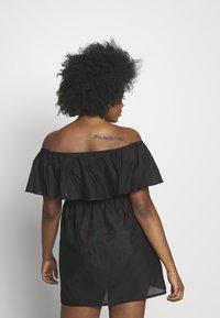 Simply Be - VALUE BARDOT BEACH DRESS - Doplňky na pláž - black - 2