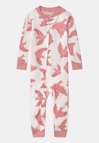BIRD - Pijama - white/light pink