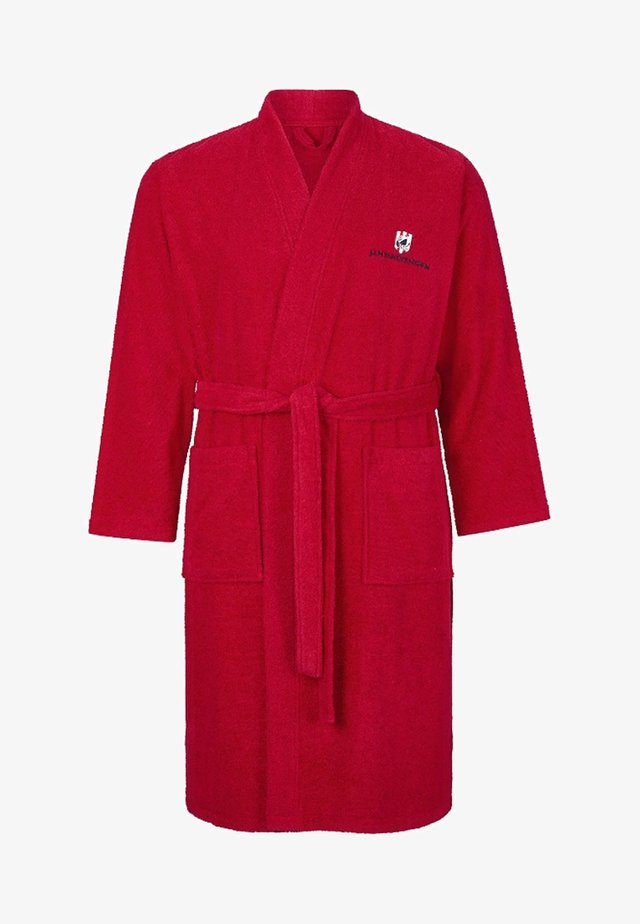 JANNING - Dressing gown - red