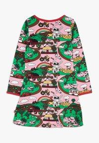 Småfolk - DRESS LANDSCAPE - Jersey dress - sea pink - 1