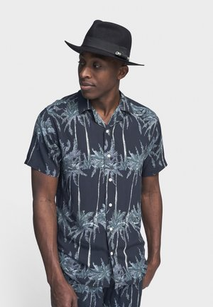 LAKE - Shirt - black palm